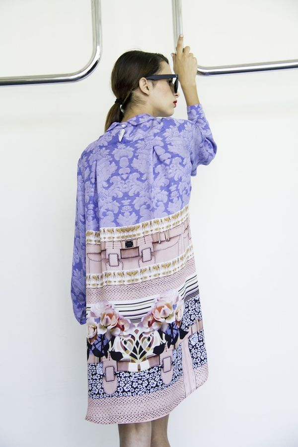 Print shirtdress by Mary Katrantzou now available at Splash City Limassol,  photography by Filep Motwary  0